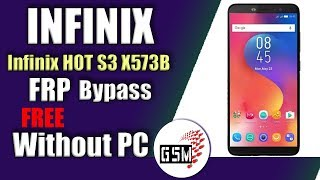 Bypass FRP Infinix Hot S3 X573B Without PC | infinix hot s3 frp bypass | infinix x573b frp bypass