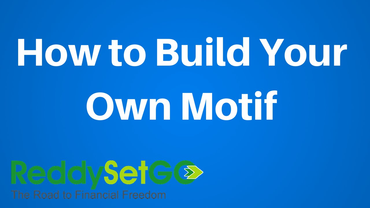 motif investing how to build your own motif motif investing how to build your own motif