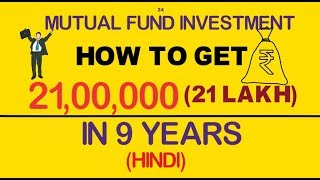 Simple Tricks get 21 Lakhs in 9 years Mutual Funds Investment in