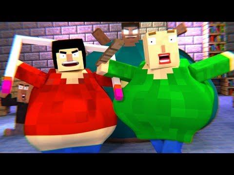 BALDIS BASICS HORROR GAME - Minecraft Animation