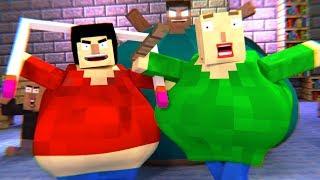 BALDI S BASICS HORROR GAME Minecraft Animation Compilation Herobrine, Playtime, More