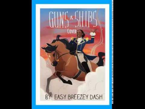 HAMILTON-Guns and ships (cover)