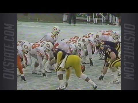 1987 Sun Bowl - #11 Oklahoma State vs. West Virginia - 1st ...