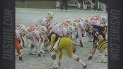 1987 Sun Bowl - #11 Oklahoma State vs. West Virginia - 1st Half