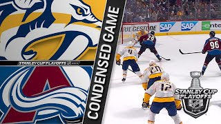 04/16/18 First Round, Gm3: Predators @ Avalanche