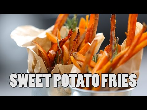 SWEET POTATO FRIES | RECIPE | John Quilter