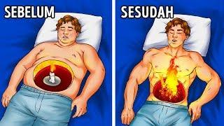 15 Cara Membakar Lebih Banyak Lemak Saat Rebahan