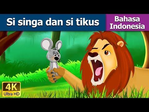 Si Singa dan Si Tikus - Dongeng bahasa Indonesia - Dongeng anak - 4K UHD - Indonesian Fairy Tales