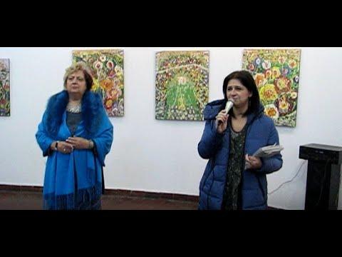 """Vernisaj: """"Farmecul Motivelor şi Culorilor """" De Valeria Tofan La Căminul Artei (parter)"""
