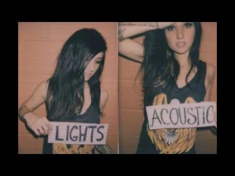 Lights - Fall Back Down (Acoustic EP) - Rancid Cover