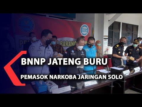 BNNP Jateng Buru Pemasok Narkoba Jaringan Solo