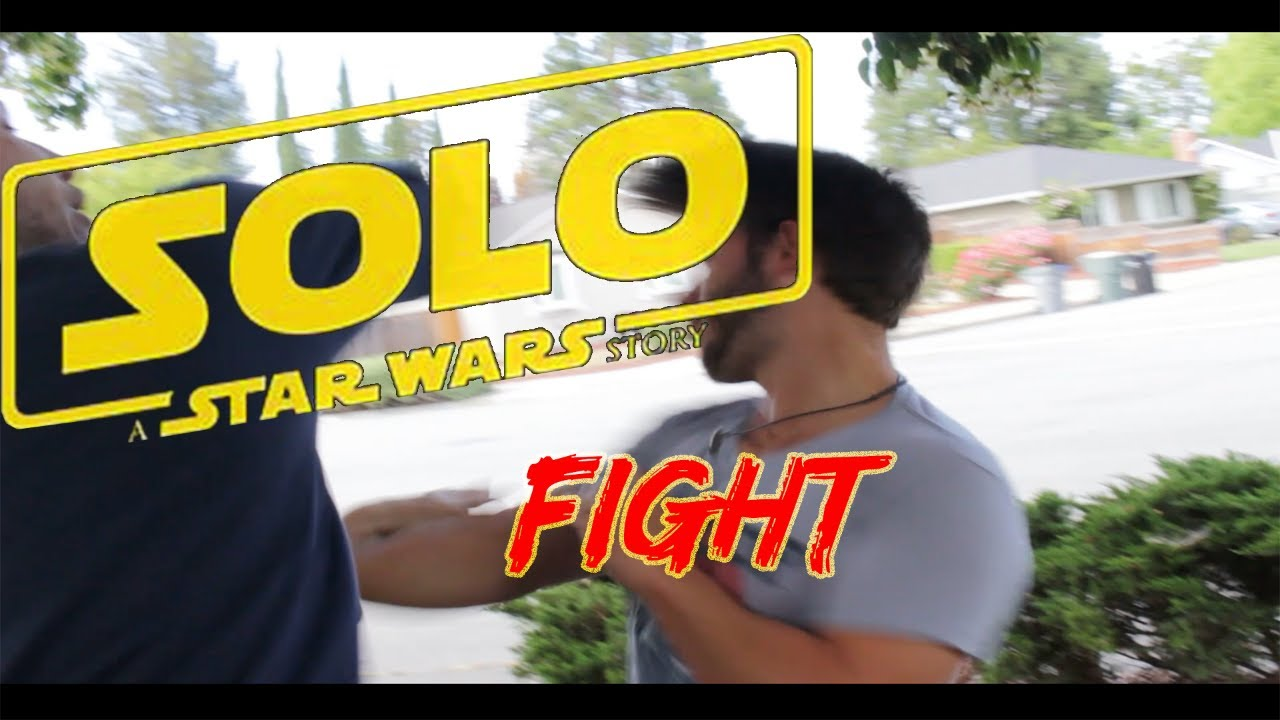 Han Solo Movie BREAKS INTO A FIGHT!!!Fight over Star Wars Han Solo Story