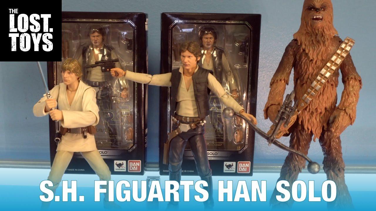 Chewbacca BANDAI S.H.Figuarts Action Figure Star Wars Han Solo