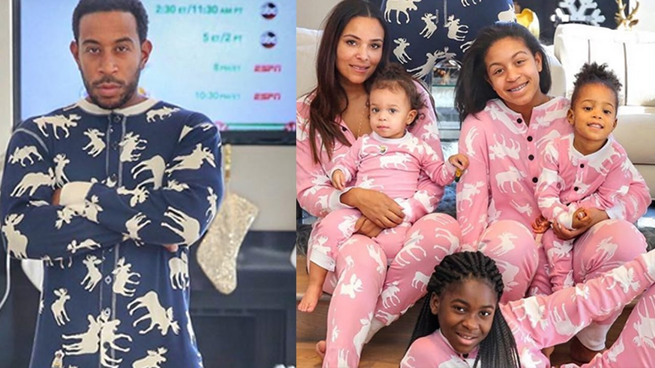 Ludacris Christmas.Ludacris And Eudoxie Celebrate Christmas With Their Daughters In Los Angeles