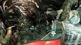 Тойота авенсис 2,4 , ремонт двигателя