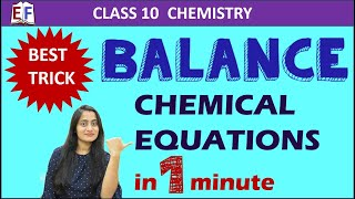 Balancing Chemical Equations | Chemistry Class 10  #2