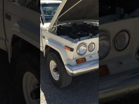 1982 Jeep J20 3/4 Ton Truck For Sale
