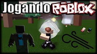 Spielen Roblox-Elemental Wars, Auberginen und Wind!