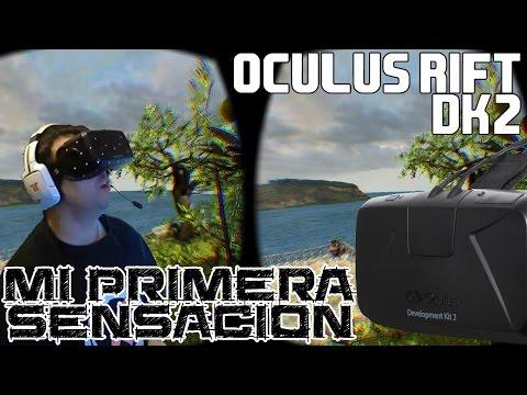 Oculus Rift DK2 || Mis primeras sensaciones en vivo