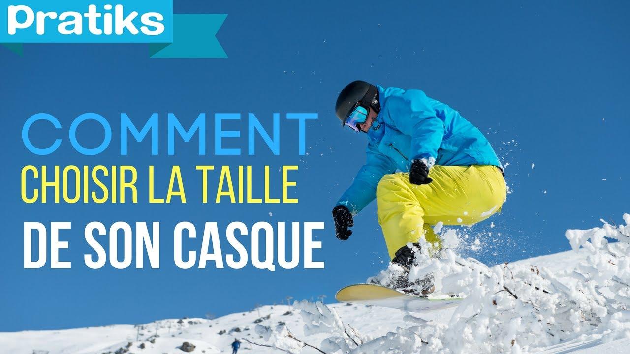 Ski snowboard comment choisir la taille de son casque sport youtube - Comment choisir son sommier a lattes ...