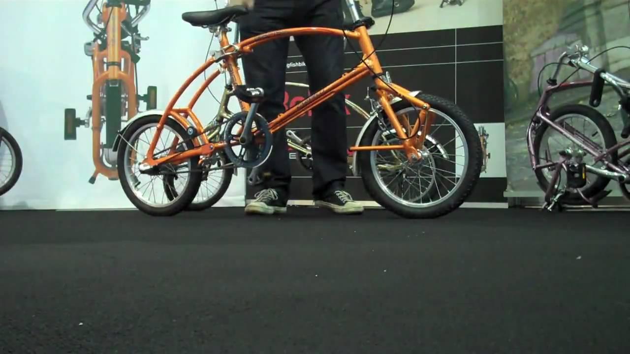 Bigfish Folding Bike At Cycle Show 2009 Youtube