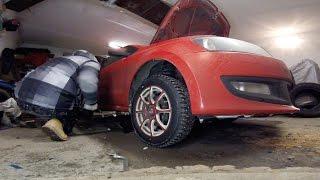 Volkswagen Polo замена втулок стабилизатора