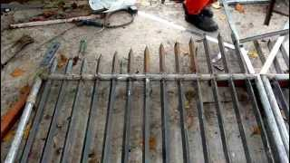 Steel Gate Fabrication, 1.08.13 B