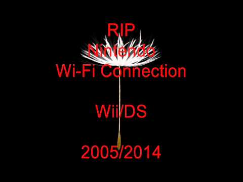 RIP Nintendo Wi-Fi Connection 2005/2014