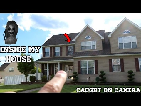 CREEPY GIRL GHOST IN MY HOUSE *CAUGHT ON CAMERA*