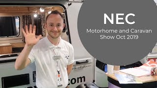 NEC Motorhome and Caravan Show October 2019 - MUST ALSO SEE