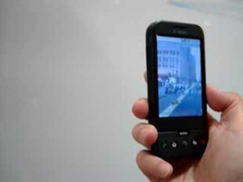 用 T-Mobile G1(HTC Dream)看 Street View