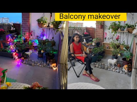 Balcony Makeover In Tamil Balcony Garden Ideas Tour How To Decorate Small Balcony Youtube