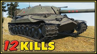 IS-7 - 12 Kills - World of Tanks Gameplay