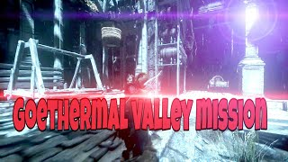 Rise Of The Tomb Raider, Goethermal valley