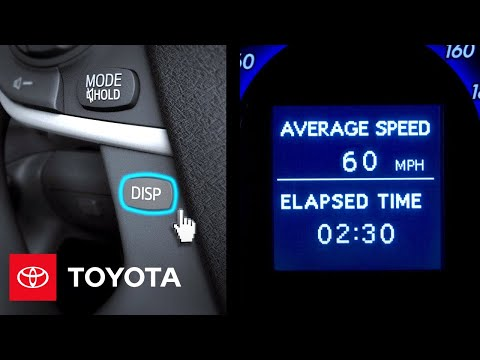 2012 Camry Hybrid How-To: Overview | Toyota