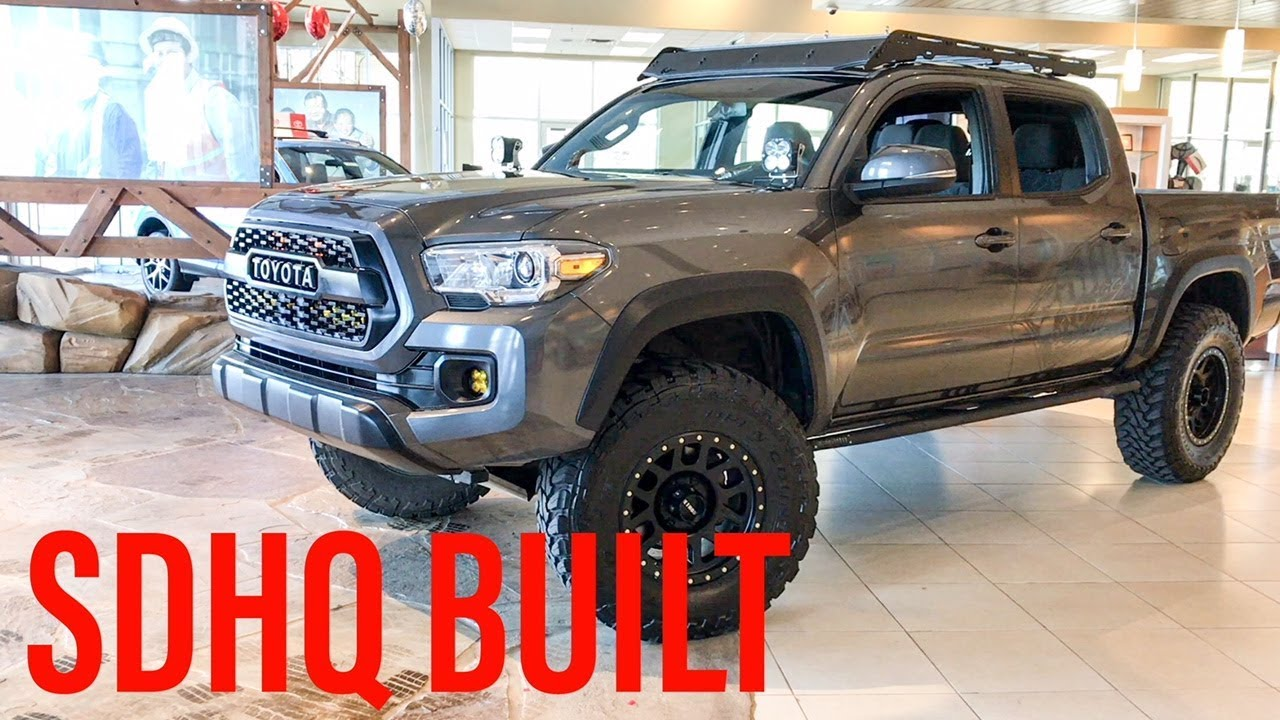 2016 Tacoma Trd Offroad Sdhq Built Long Vid But Sick Build