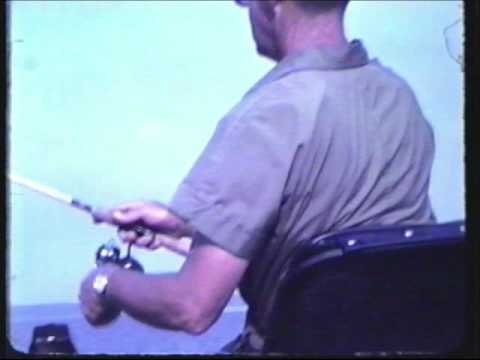 Charlie Brewer Sr. Fishing Pickwick Lake Late 1960's or early 70's.mp4