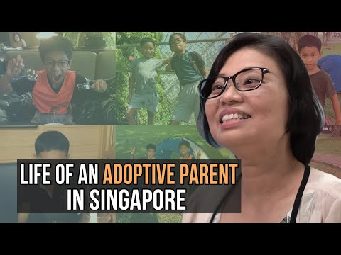 What is it like to raise adopted children in Singapore?