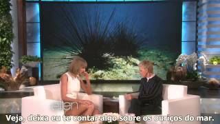 Taylor Swift's Deepest Fear - The Ellen Show (Legendado/Tradução)