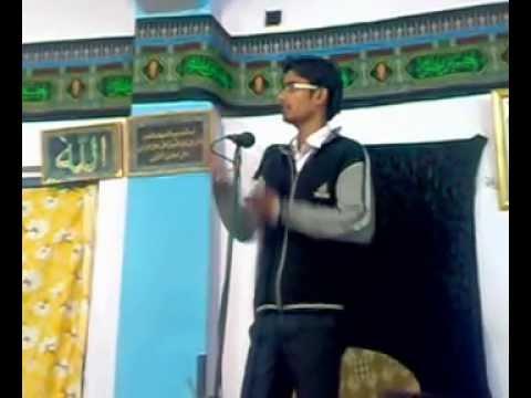 Nabi Ji Aa Rahe Hai and More Munaqbat/Qasida -- Ammar Abbas Rizvi, S/o Amanat Hussain