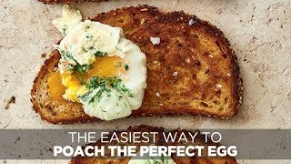 The easiest way to poach the perfect egg  Woolworths TASTE