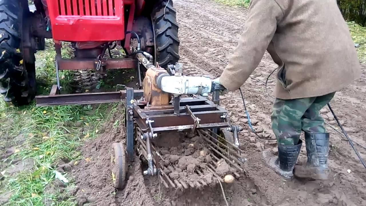 Картофелекопалка веерная своими руками размер фото 730