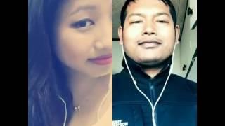 Malaai maaf garideu mera lovi nazar kahin kasaimaa dubechha bhane - Nepali Pop Smule Sing Karaoke