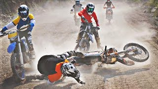 Big Supermoto & Dirtbike Fail Compilation 2019
