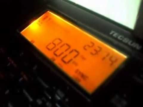TWR - Trans World Radio, from Netherlands Antilles (800 KHz - OM), listened in Morrinhos