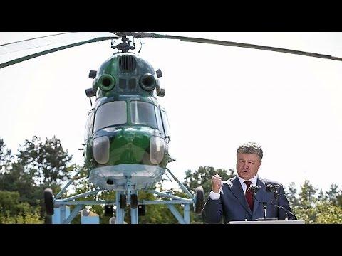 Petro Poroshenko amenaza con imponer la ley marcial en Ucrania