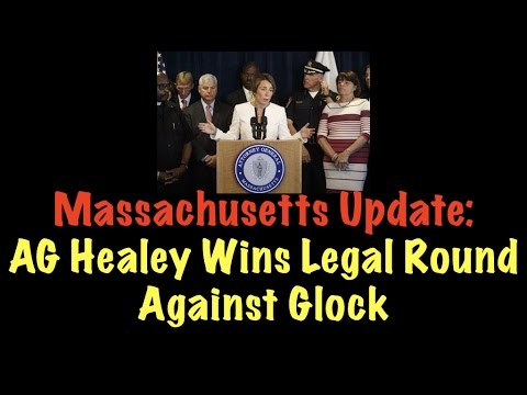 Massachusetts Update: AG Healey Wins Legal Round Against Glock