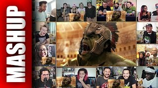 Thor: Ragnarok Official Announcement Trailer Reactions Mashup