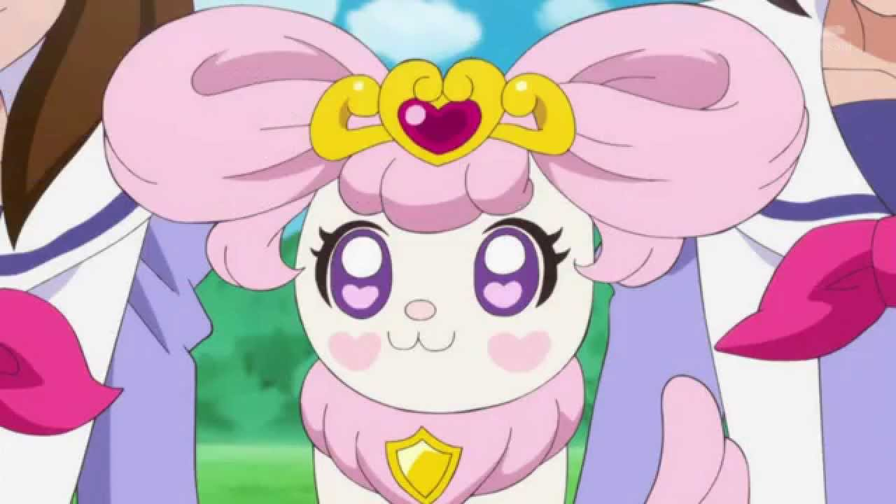 Hd Go Princess Precure Puff Changing Her Hair Youtube