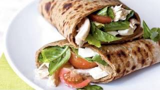 Caprese Wraps With Chicken